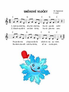 Kids Songs, Hana, Kindergarten, Playing Cards, Classroom, Education, Sheet Music, Winter, Kid