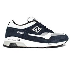 05240c6ab617 Buy New Balance NWG UK made classic running shoes in Navy White Grey.
