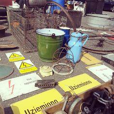 Today's flea #3 #vintage #industrial #fleamarket #flohmarkt #brocante #flea #fleamarketfinds #old #industrialdesign #vintagestyle #brutfurniture #junkstyledesign #basket #Poland #Poznań