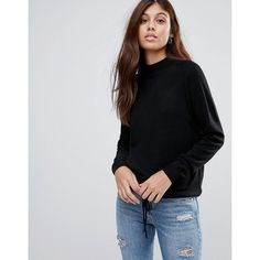 JDY Bellamy Turtleneck Knit Jumper (297.680 IDR) ❤ liked on Polyvore featuring tops, sweaters, black, polo neck jumper, knit jumper, tall sweaters, knit turtleneck and jumpers sweaters