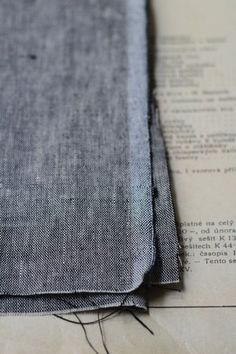 LINNET  Shabby chambrey linen pinned from lin-net.com