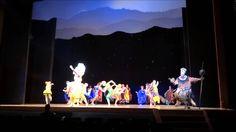 El rey león el musical estreno Simba Carlos Rivera