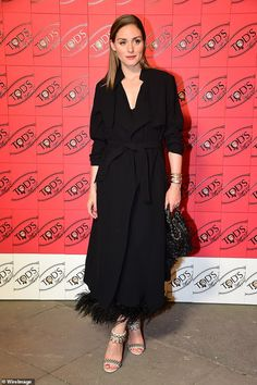 Olivia Palermo was a fashion icon on Tuesday, oozing with style when she attended the Tod's X Alber Elbaz Happy Moments at Yoyo Palais De Tokyo in Paris on Tuesday. Olivia Palermo Street Style, Olivia Palermo Outfit, Estilo Olivia Palermo, Olivia Palermo Lookbook, Pretty Black Dresses, Beautiful Dresses, Stockholm Street Style, Paris Street, Milan Fashion Weeks