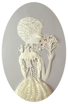 Elsa Mora paper cut - beautifull
