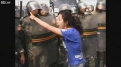 "China`s Tiananmen Square ""accident""."
