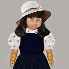 """A GIRL IN FASHION   ---   SEE THE VIDEO OF THIS DOLL:  """"SHOW AND RARE BEAUTY"""""""