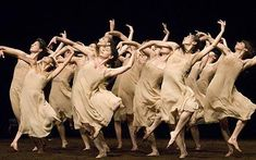 Pina Bausch's production of The Rite of Spring
