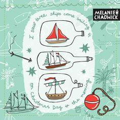 3 Ships on Christmas Day |