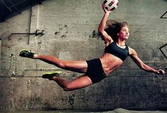 portraits-of-power-nike-women-with-annie-leibovitz-photography. Hope Solo  WORLD CHAMPION SOCCER PLAYER, USA