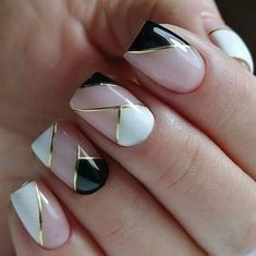 40 Classy Nail Art Design Ideas That Trending This Season - Nail art designs Classy Nail Art, Trendy Nail Art, Stylish Nails, Classy Gel Nails, Beautiful Nail Designs, Cute Nail Designs, Acrylic Nail Designs Classy, Cute Nails, Pretty Nails