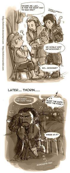 Fili, Kili, hobbit from Hobbiton, and Thorin. Baggins Bilbo, Thorin Oakenshield, Thranduil, Legolas, Fili Und Kili, The Misty Mountains Cold, Marvel Comics, O Hobbit, Middle Earth
