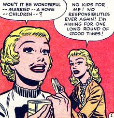 "Teen-Age Brides #2 (1953) by Bill Draut •  ""One long round of good times!"""