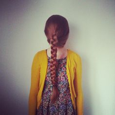 Malin Bergman , la ragazza dai capelli rossi.