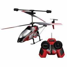 BladeRunner Interceptor Radio-Controlled Helicopter . $117.45. The BladeRunner Interceptor is a radio-controlled helicopter designed for indoor or outdoor flying. With up, down, left, right, forward and reverse flight controls, it's sure to provide hours of fun. Best of all, it charges via an easy-to-use USB system.
