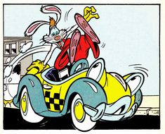 roger rabbit benny the cab comics