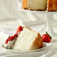 Heavenly Angel Food Cake - everything you need to know to make this light-as-air cake at home (with photos)