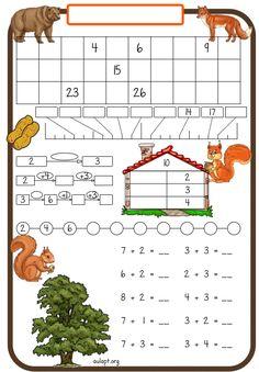 Nuevas fichas para trabajar la numeración y el cálculo a nivel inicial - Aula PT