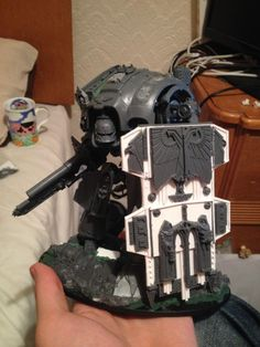 Imperial Knight, Mecha, Shield - Gallery - DakkaDakka | Now accepting servo-skull applications.