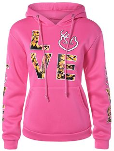 Hoodies For Women Sweatshirts Online, Hooded Sweatshirts, Letter Patterns, Cheap Hoodies, Red Hoodie, Pattern Fashion, Kangaroo, Pullover, Hoody