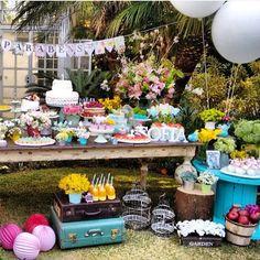 Começando o domingo super tarde com esse picnic lindo por @flamingoemfesta, amei!  #kikidsparty