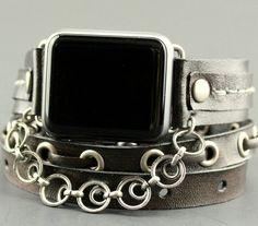 Women's Brown Apple Watch Band