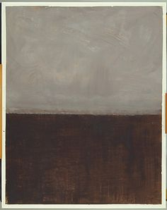 The Metropolitan Museum  Untitled (Brown and Gray)  1969  Acrylic on paper  H. 60-3/8, W. 47-5/8 inches   (153.4 x 121 cm.)