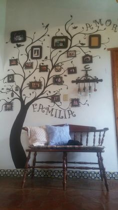 Family tree wall painted ❤