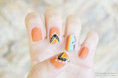 Aztec Nails #nailart