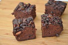 Vegansk pekan brownie
