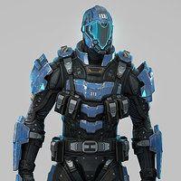 ArtStation - Police Bot, Kamil Kozlowski
