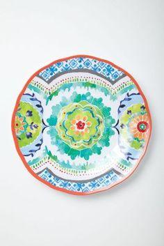 Hacienda Melamine Plates...perfect for summer <3