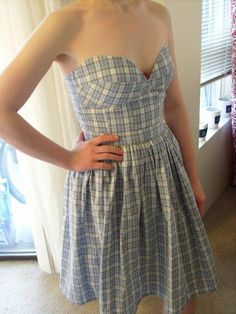 DIY Strapless Dress