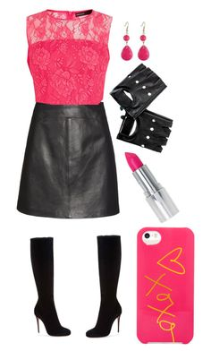 """""""Leather Style"""" by sparklemaster ❤ liked on Polyvore"""