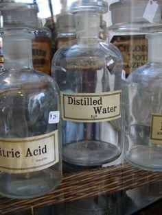 apothecary bottles                  ****