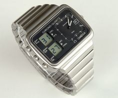 lcd watch vintage omega