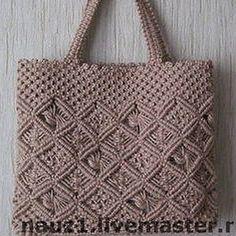 Macrame Purse, Crochet Clutch, Macrame Patterns, Wall Hanger, Handmade Bags, Straw Bag, Tote Bag, Knitting, Craft Ideas