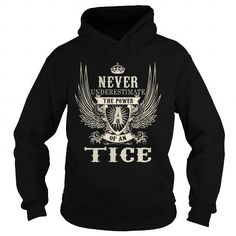 Cool TICE TICEYEAR TICEBIRTHDAY TICEHOODIE TICENAME TICEHOODIES  TSHIRT FOR YOU T-Shirts