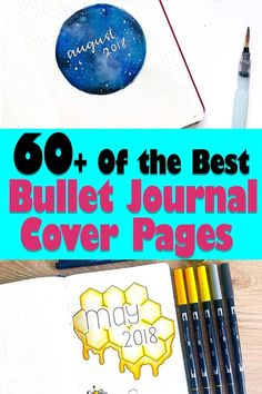 Beautiful Bullet Journal Cover Page Ideas for Every Month of the Year Making A Bullet Journal, Bullet Journal Cover Page, Bullet Journal How To Start A, Bullet Journal Spread, Bullet Journal Layout, Journal Covers, Bullet Journal Inspiration, Journal Ideas, Bullet Journals