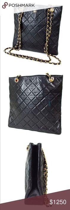 ef8ffba5e14a Chanel quilted double Shoulder bag Authentic Chanel quilted double chain  shoulder bag Category Shoulder Bag Brand