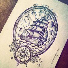 C x I x D Ship / Frame by EdwardMiller.deviantart.com on @DeviantArt