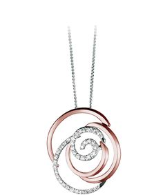 Rose Collection by Damiani. Brilliant diamonds dance along this vintage rose gold flower. Celebrate the most cherished flower from Damiani. Starting at $2,790.