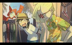 Pokemon Luna, Pokemon Ships, Pokemon Fan Art, Pokemon Team Leaders, Pikachu, Fanart, Pokemon Special, Pokemon Comics, Pokemon Pictures