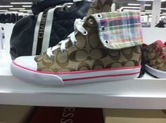 Coach High-Top Sneakers Very Cute With Jeans ! - $80.00