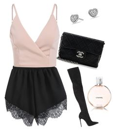 """Sassy chic"" by thinkk-1 on Polyvore featuring Chanel, Le Silla and David Yurman"