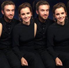Dan Stevens and Emma Watson aka Beauty and the Beast