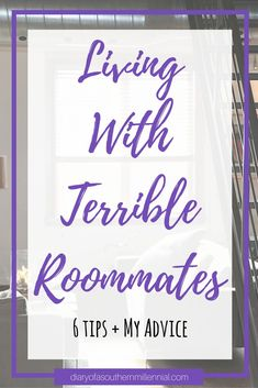 So you've finally signed your lease and found out who your roommates are, but what happens when that person you thought was perfect ends up no-so-perfect? Check out my terrible roommate story and 6 easy tips to make the best of your situation! College Life Hacks, College Roommate, College Students, College Tips, Dorm Life, College Courses, Education College, Roommate Agreement, University Tips