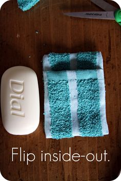 DIY: Soap Pouch previous pins had problems......this link works and has the directions