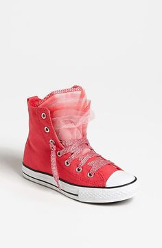 Converse Party Sneaker: Converse All-Stars get a fancy makeover with lacy, multicolored tulle on the Party Sneaker ($37), available in sizes for girls 4-12 years old.