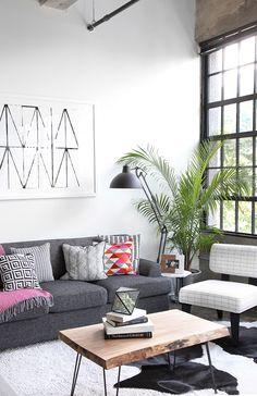 Novel Small Living Room Design and Decor Ideas that Aren't Cramped - Di Home Design Home Design, Design Ideas, Modern Design, Living Room Modern, Living Room Designs, Small Living, Cozy Living, Home Decor Bedroom, Living Room Decor