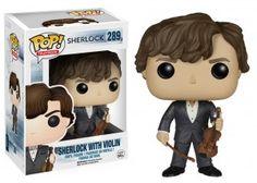Figurka POP! Sherlock ze skrzypcami